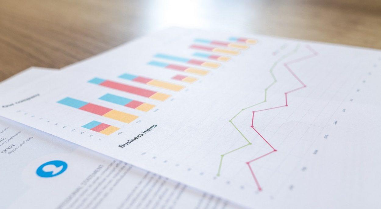 Page d'un rapport financier